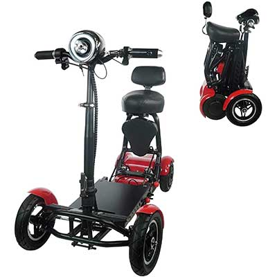 Fold and Travel Mobility Scooters for Adults