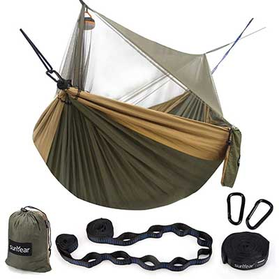 Sunyear Hammock Camping with Bug Net/Netting