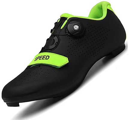 Men Road Bike Cycling Shoes Premium Microtex Shoes