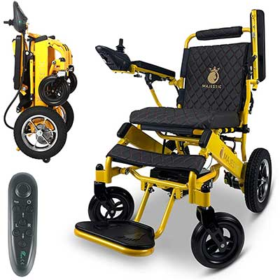 2020 Limited Edition Remote Control Foldable Electric Wheelchair