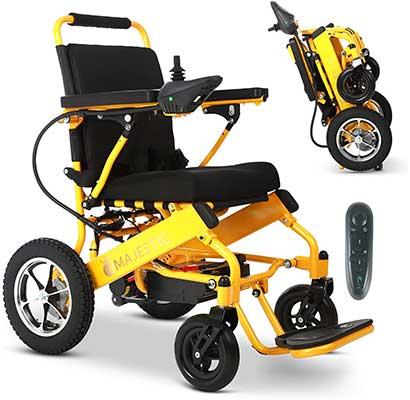 2021 New Folding Ultra-Lightweight Electric Power Wheelchair
