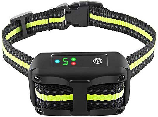 Bark Collar Dog Bark Collar Rechargeable Shock Collar