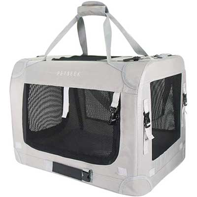 Petseek Extra Large Cat Carrier Soft Sided