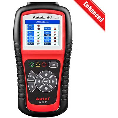 Autel AutoLink AL519 OBD2 Scanner Enhanced Mode