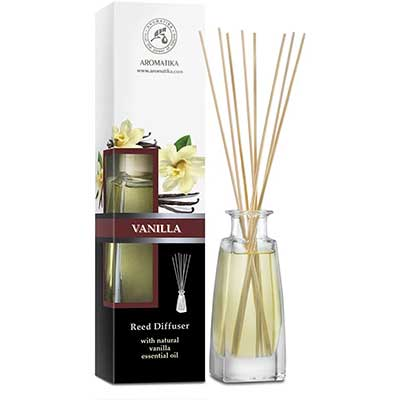 Reed Diffuser with Natural Essential Oils Vanilla