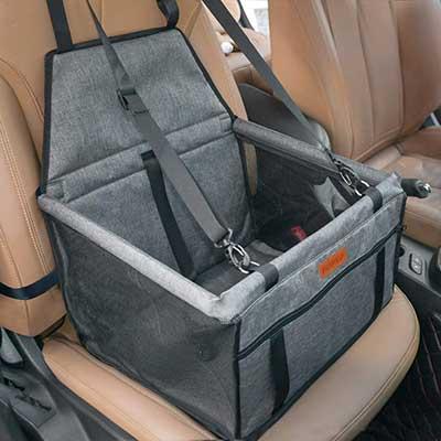 SWIHELP Dog Car-Seat Upgrade Portable Pet Booster