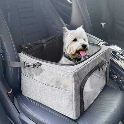 SlowTon Dog Booster Car Seat