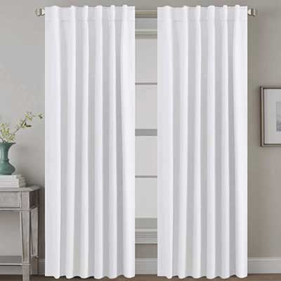 H.VERSAILTEX White Curtains Thermal Insulated Curtains