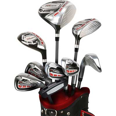 """Powerbilt Pro Power Package +1"""" Golf Set"""
