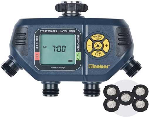 Melnor 65036-AMZ AquaTimer 4-Zone Digital Timer