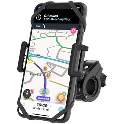 TruActive Unbreakable Bike Phone Mount Holder