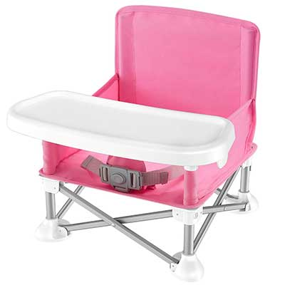 Baby Seat Booster High Chair –Portable-Space Saver
