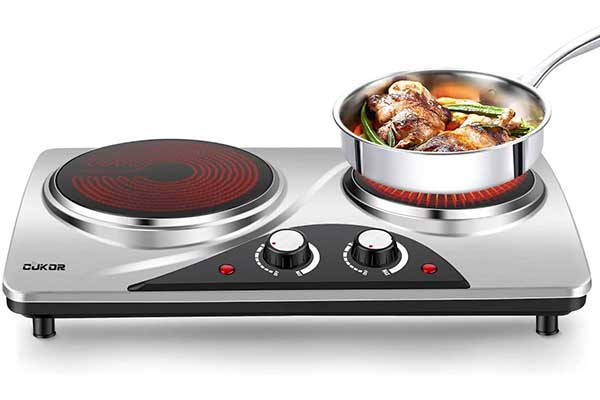 CUKOR Electric Hot Plate, 1800W