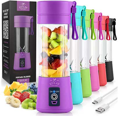 Zulay Portable Blender For Shakes and Smoothies