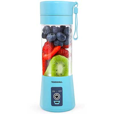 Portable Blender, Personal Size Blender USB Rechargeable