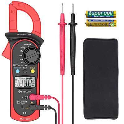 Etekcity Digital Clamp Meter Multimeter AC Current &AC/DC Voltage Tester