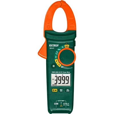 Extech MA445 True RMS 400A AC/DC Clamp Meter
