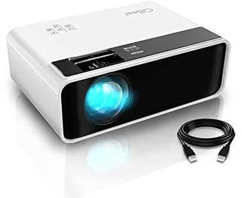 Mini Projector, CiBest Video Projector Outdoor Movie Projector