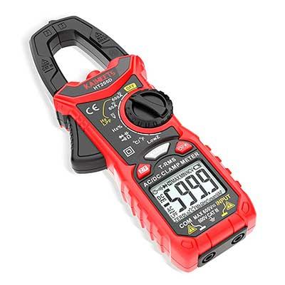 KAIWEETS Digital Clamp Meter T-RMS6000 Counts Multimeter