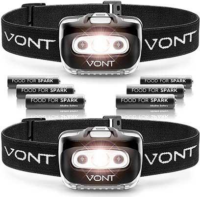 Vont Spark LED Headlamp Flashlight
