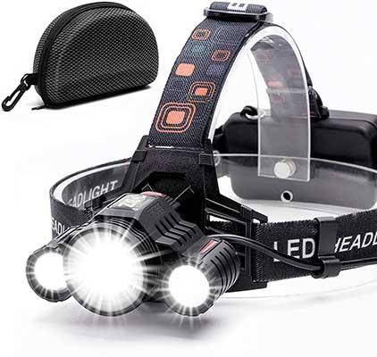 Headlamp, Cobiz Brightest High 600 Lumens LED Work Headlight