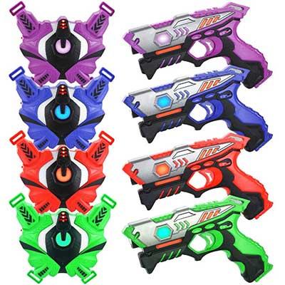 TINOTEEN Laser Tag Guns Set with Vests