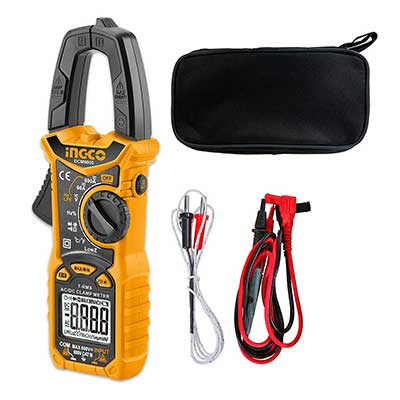 INGCO Auto-Ranging Digital Clamp Meter TRMS6000 Counts Measures