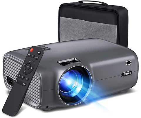 JEEMAK Mini Projector, Video Projector6000 Lumens