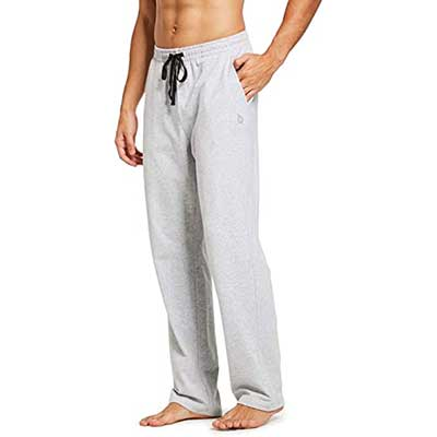 BALEAF Men's Cotton Yoga Sweatpants