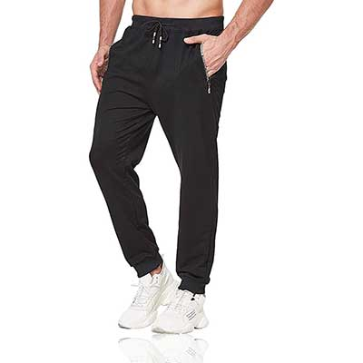 Tansozer Men's Lightweight Joggers Casual Slim Sweatpants