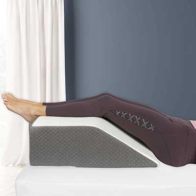 Leg Elevation Pillow, Chic Jacquard Cover