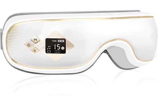 GALOPAR Eye Massager, Electric Eye Massager with Heat Vibration