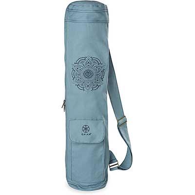 Gaiam Yoga Mat Bag – Full-Zip Cargo Yoga Mat Carrier