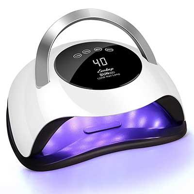 UV LED Nail Lamp, Easkep 120W Gel Nail Polish UV Light