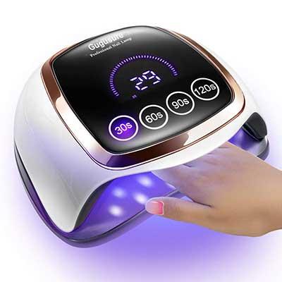 UV LED Nail Lamp, Gugusure 168 Nail Curing Lamps