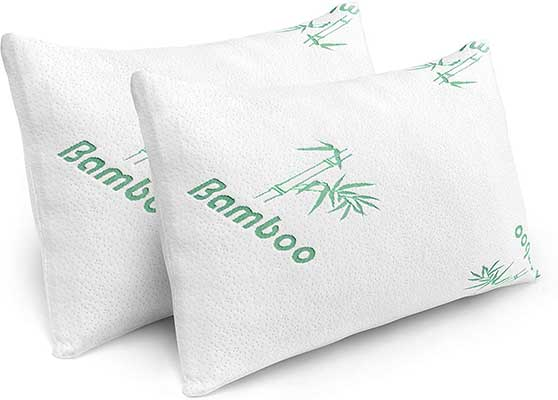 Pillows for Sleeping – 2 Pack Cooling Memory Foam Pillow