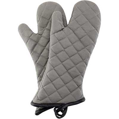 Oven Mitts 1Pair of Quilted Terry Cloth Lining