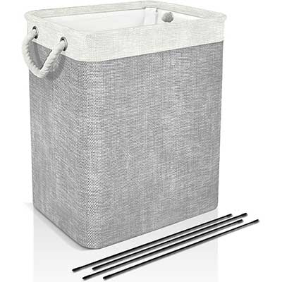 DYD Laundry Basket with Handles & Brackets