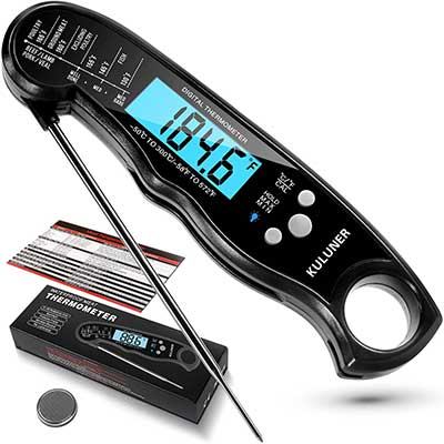 KULUNER TP-01 Waterproof Digital Instant Read-Meat-Thermometer
