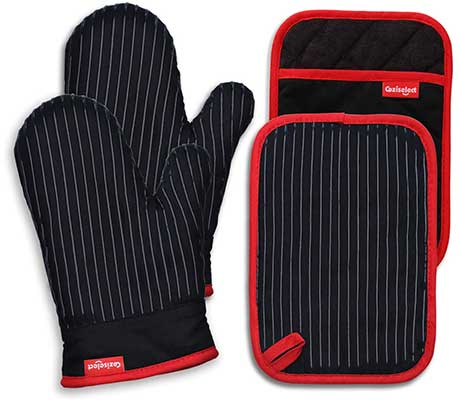Coziselect Oven Mitts and Pot Holders