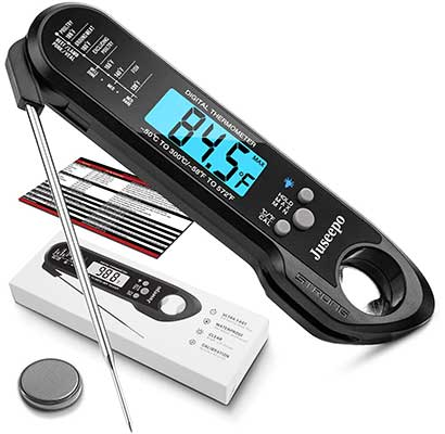 Juseepo Instant Read Waterproof Meat Thermometer
