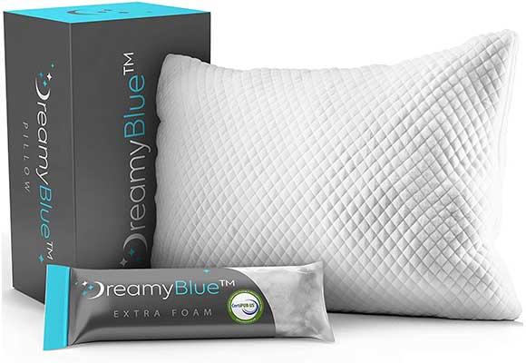 DreamyBlue Premium Pillow for Sleeping