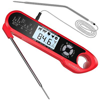 Meat Thermometer, DecoStar Dual Probe Food Thermometer